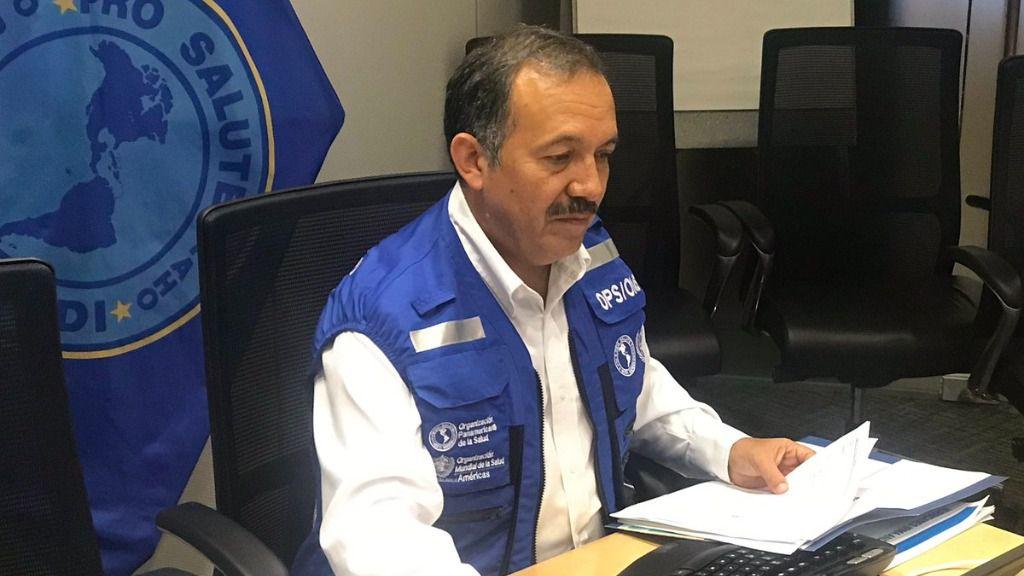 Ciro Ugarte recuerda que las negociaciones en Venezuela continúan para Covax / Foto: OPS