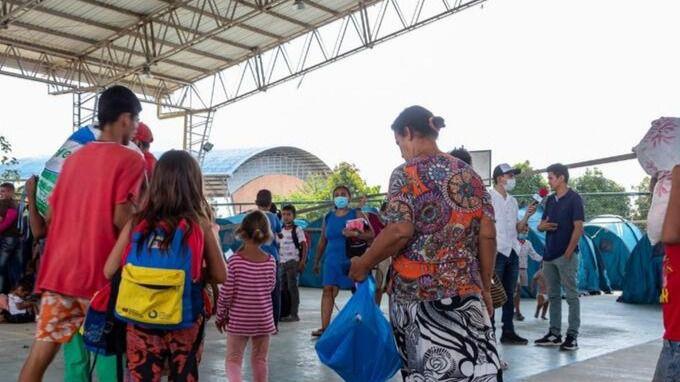 La crisis de Arauquita golpea especialmente a mujeres y niñas / Foto: Cedida