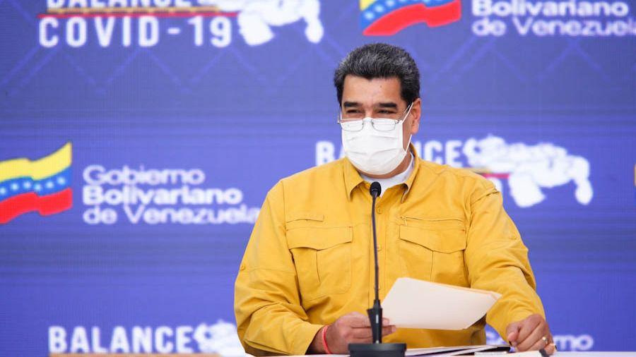 Maduro agradece al Banco Central que haya conseguido fondos para las vacunas / Foto: PrensaVE