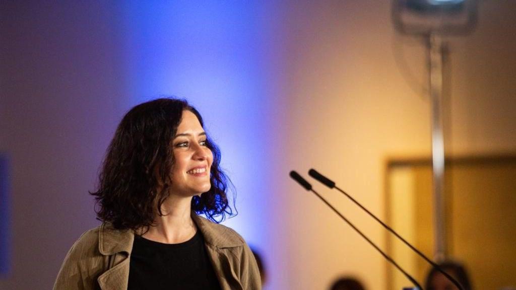 Isabel Díaz Ayuso es la favorita a la presidencia de Madrid / Foto: PP