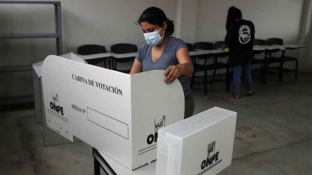 La encuesta Datum es el reflejo de la polarización en Perú / Foto: Onpe