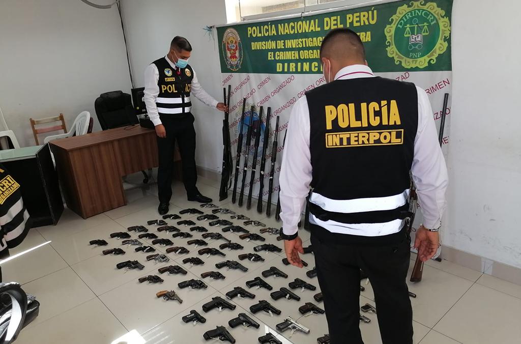 La Interpol detectó otras actividades ilícitas relacionadas con el tráfico de armas / Foto: Interpol
