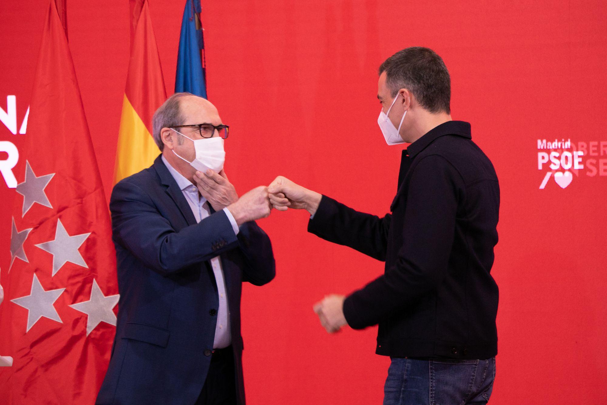 Sánchez apoya a Ángel Gabilondo y brinda apoyo a la campaña socialista en Madrid / Foto: PSOE
