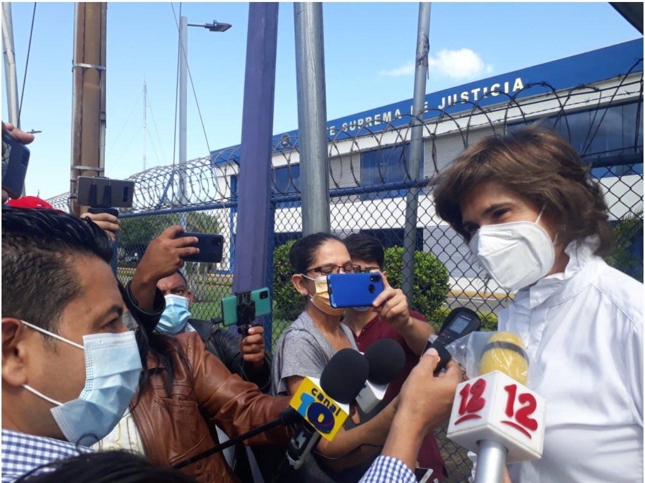 Cristiana Chamorro es la hija de la expresidenta Violeta Chamorro / Foto: WC