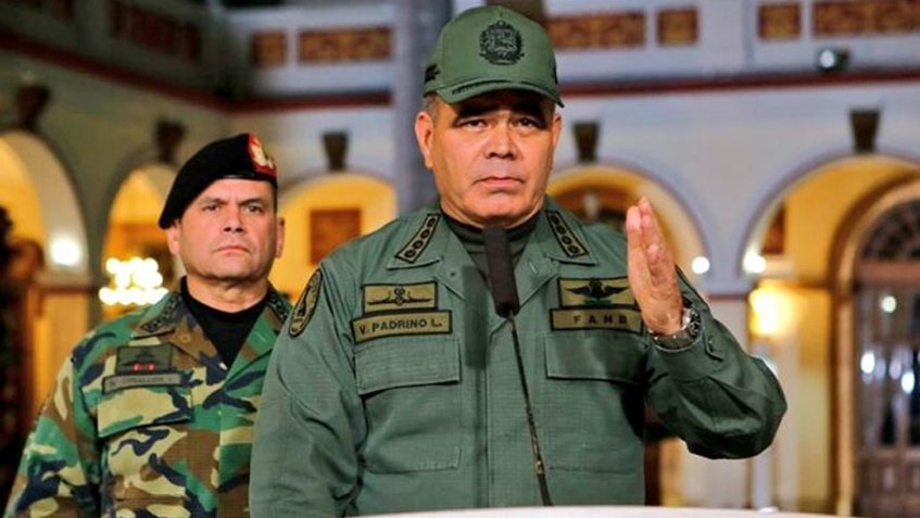 Padrino López reconoce bajas entre sus filas / Foto: FANB