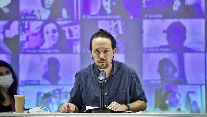 Pablo Iglesias denunció públicamente la recepción de las amenazas / Foto: Podemos