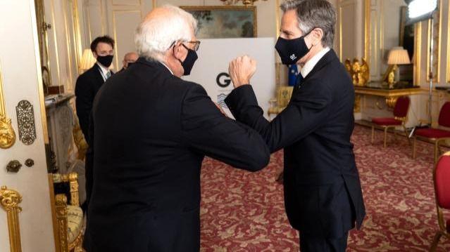 Borrell y Blinken abordaron el tema Colombia en el G7 / Foto: G7