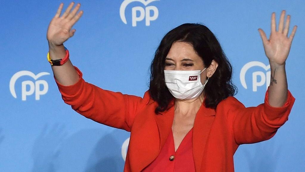 Ayuso arrasa en Madrid / Foto: PP