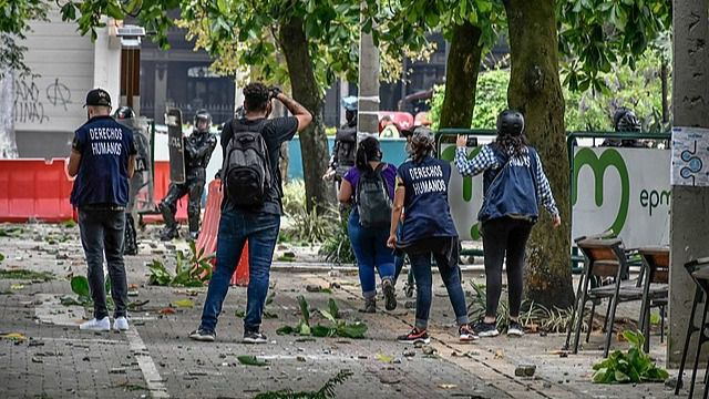 La ONU y la UE han puesto el foco en la violencia policial en Colombia / Foto: WC