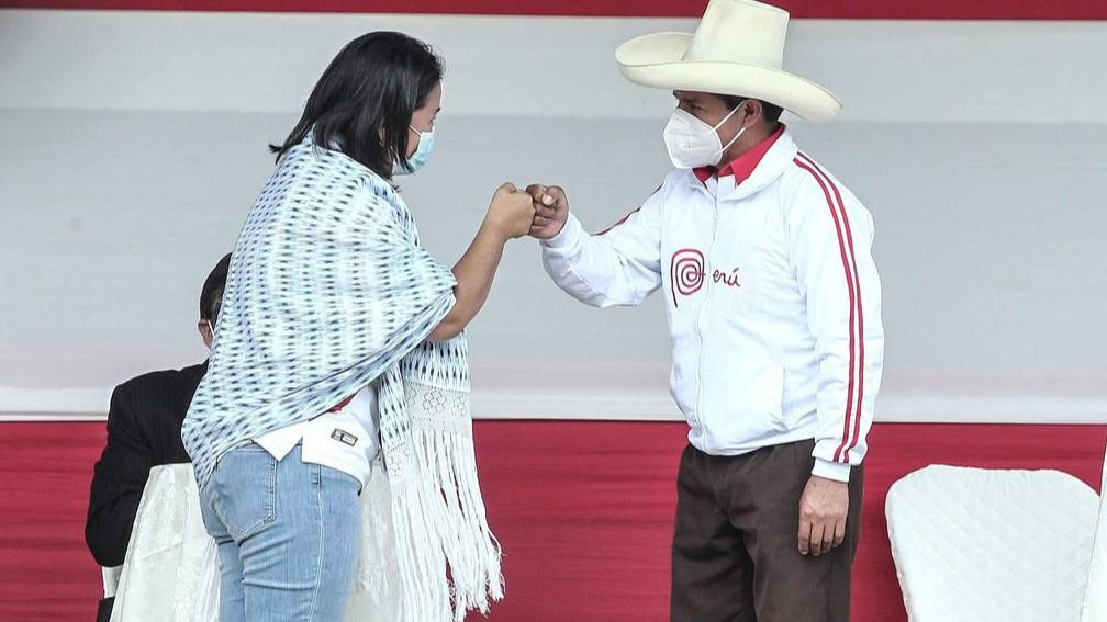 Tanto Fujimori como Castillo firmaron la proclama ciudadana / Foto: WC