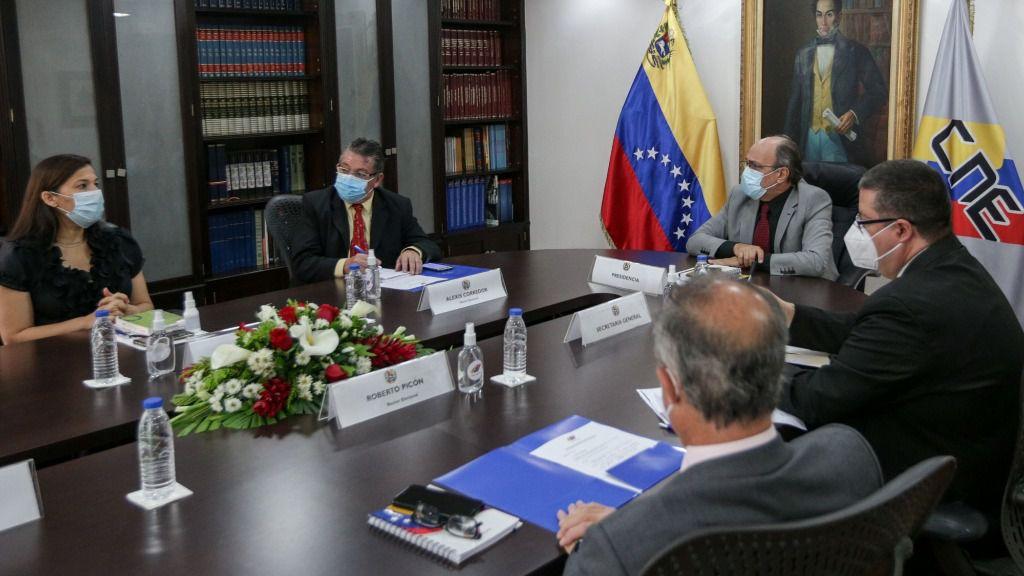 Pedro Calzadilla, identificado abiertamente con el chavismo, es el nuevo presidente del CNE / Foto: CNE