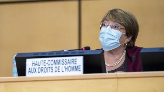 Bachelet sigue documentando las violaciones en Colombia / Foto: WC