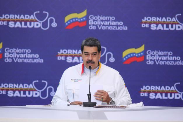 Maduro dice que Guaidó no quiere quedarse fuera de las negociaciones / Foto: PensaVE