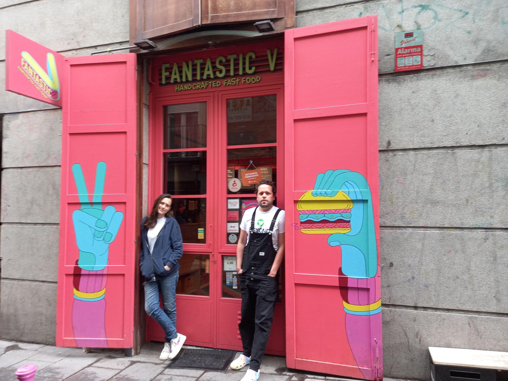 Cristina de la Pava y Sebastián Sánchez abrieron Fantastic V en 2019 / Foto: Cortesía