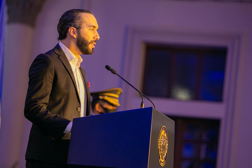 Nayib Bukele se aleja de EEUU y se acerca a Rusia y China / Foto: Presidencia