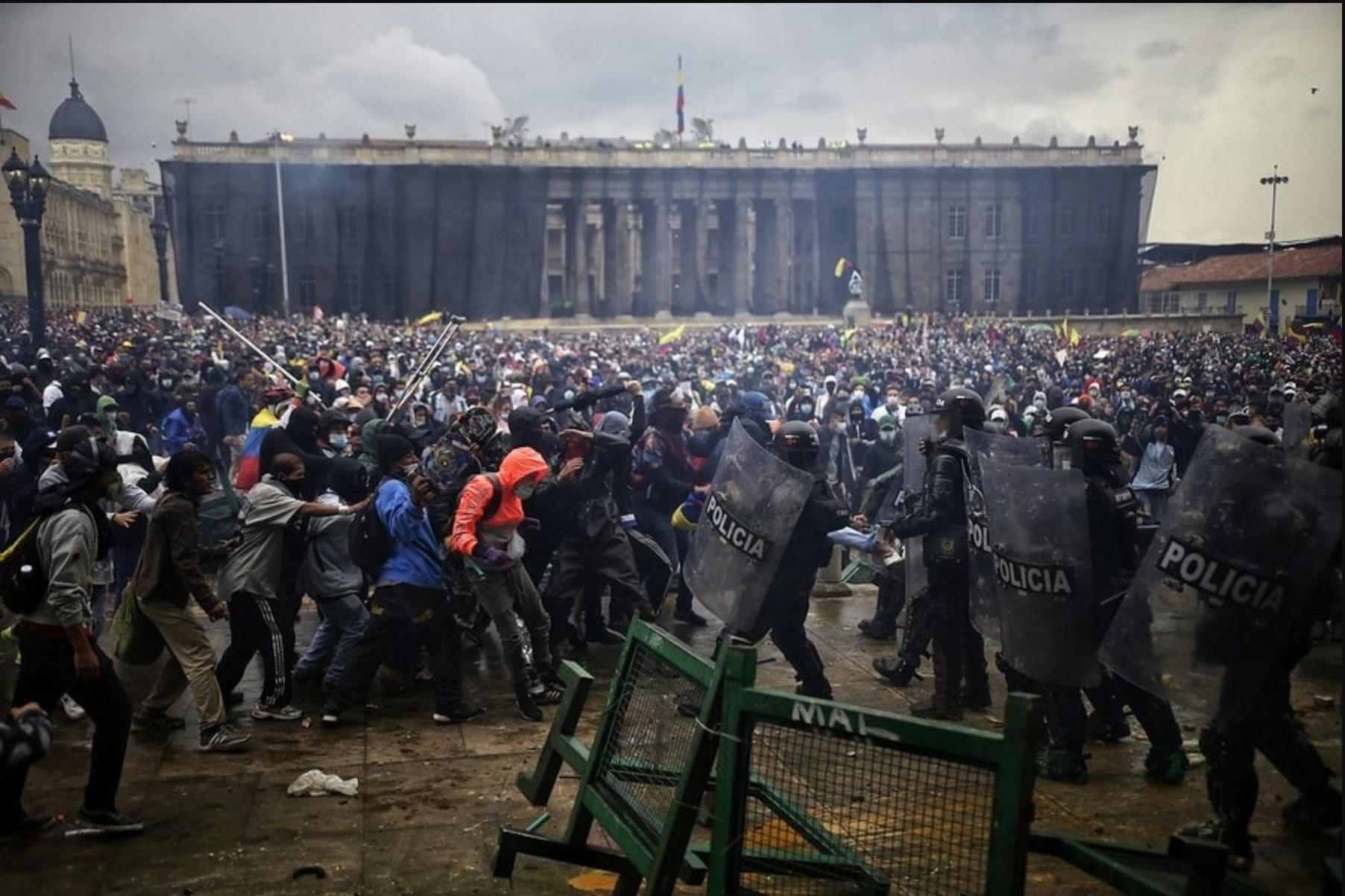 La protesta ha ido escalando hasta llegar a niveles muy violentos / Foto: WC
