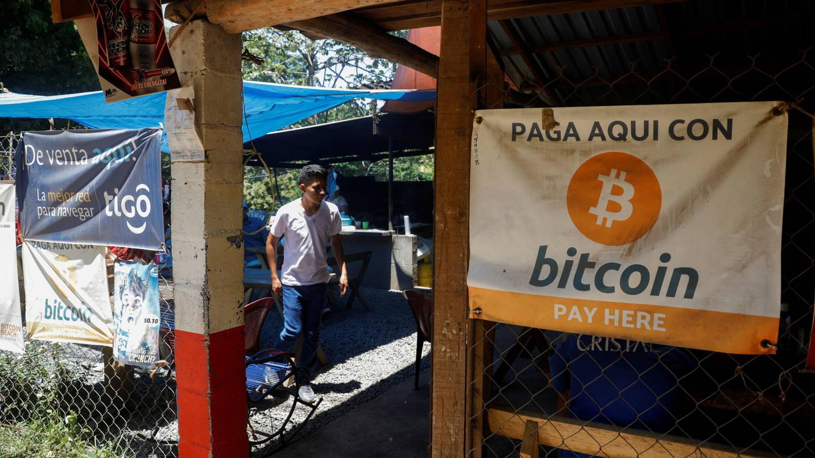 El bitcoin, ahora de curso legal en El Salvador.