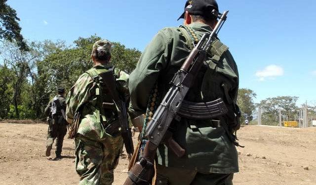 Miembros de las FARC en Colombia