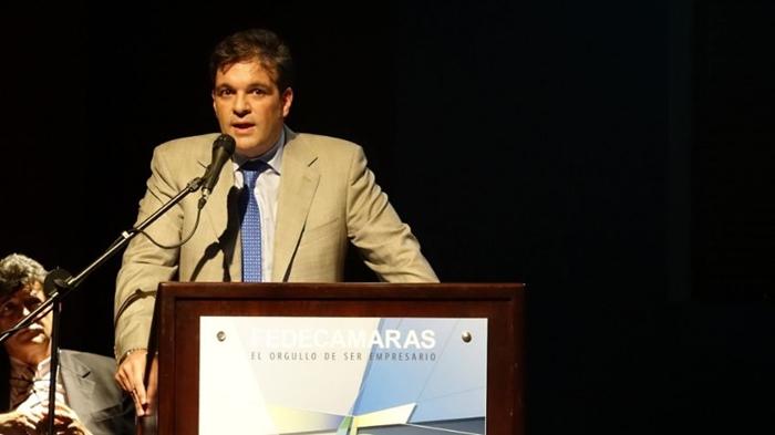Ricardo Cussano, presidente de Fedecámaras. Foto: cortesía
