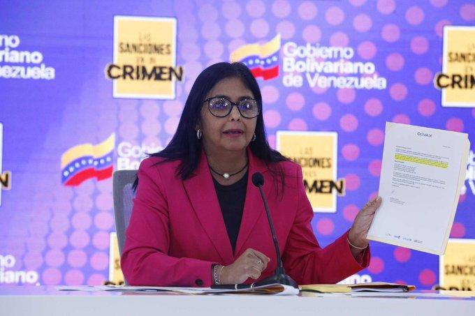 Foto: Vicepresidencia de Venezuela