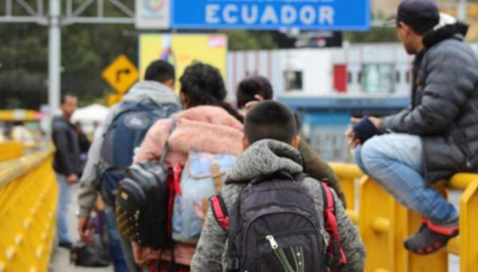 Ecuador alberga a más de 430.000 migrantes venezolanos. Foto: cortesía El Comercio