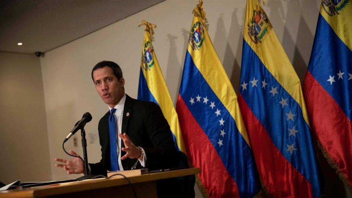 El Gobierno de Maduro entrega el territorio venezolano a grupos irregulares, asevera Guaidó.