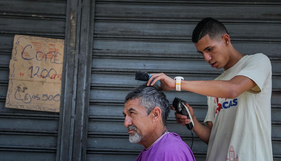 Los pagos con comida se están volviendo comunes en Venezuela.