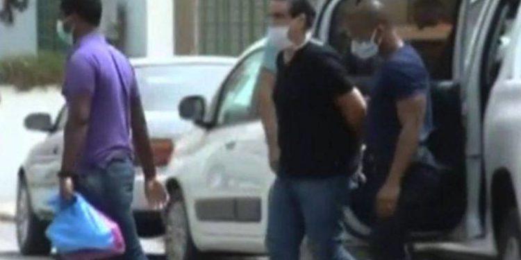 Momento de la captura de Alex Saab en junio de 2020 en Cabo Verde / Captura de pantalla Canal RTC.