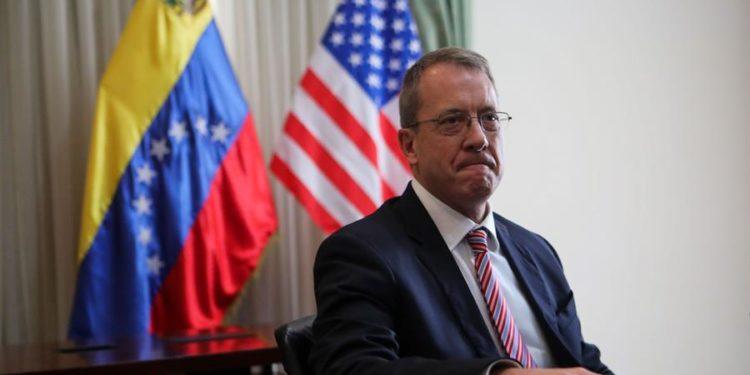 En la imagen, el representante diplomático de EE.UU. para Venezuela, James Story. Cristian Hernández / EFE / archivo