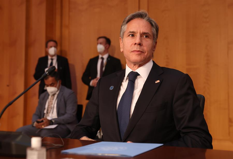 En la imagen, el secretario de Estado de Estados Unidos, Antony Blinken.
