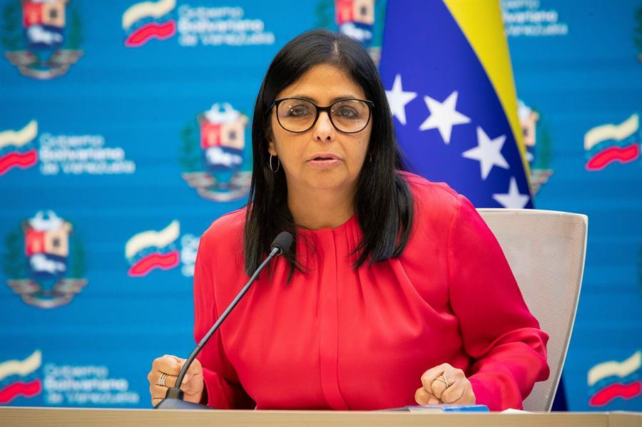 La vicepresidenta de Venezuela, Delcy Rodríguez.