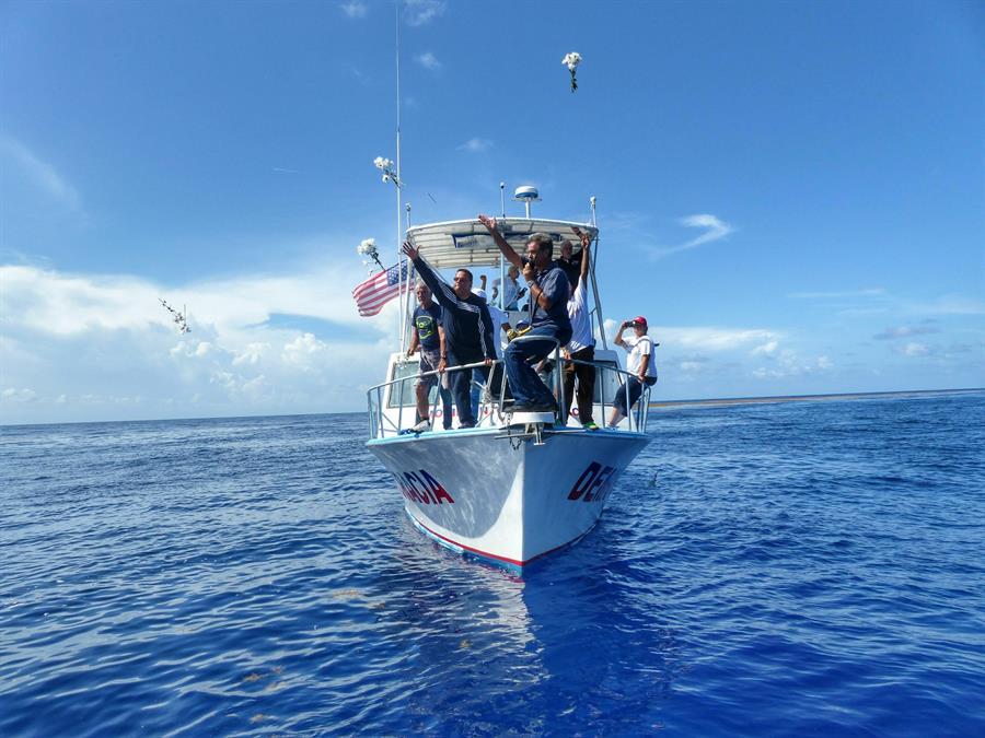Foto de archivo de una flotilla del exilio cubano de Miami que zarpó a las costas de Cuba.