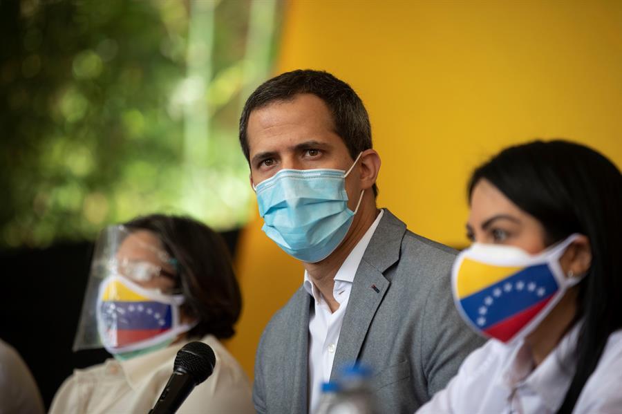 En la imagen, el líder opositor venezolano Juan Guaidó.