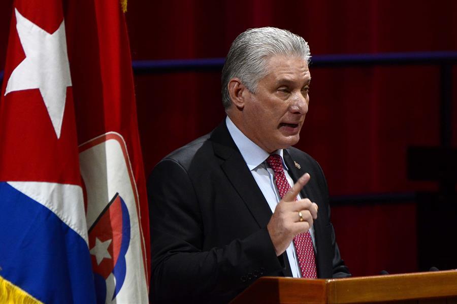 El presidente de Cuba, Miguel Díaz-Canel Bermúdez.