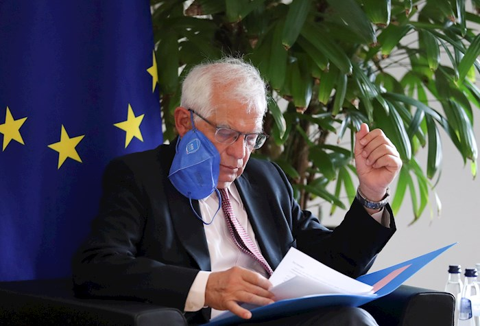El jefe de la diplomacia de la Unión Europea, Josep Borrell