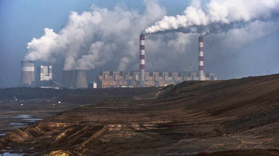 Central eléctrica de Belchatow, Rogowiec, Polonia.