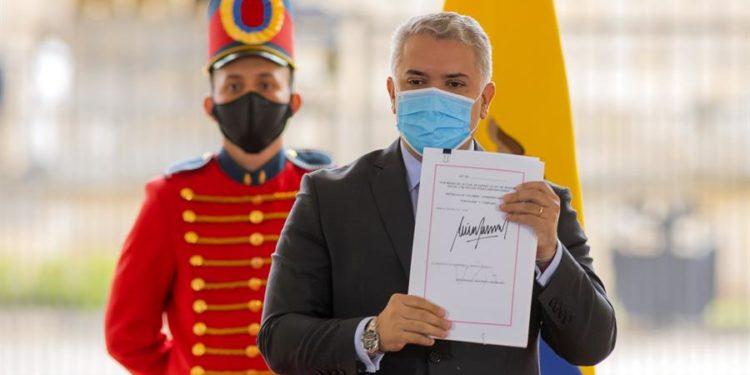 Efraín Herrera/ Presidencia de Colombia / EFE.